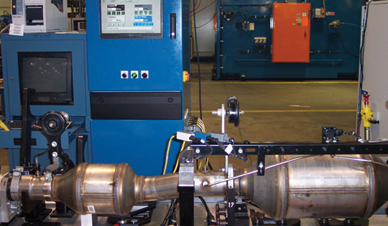 Production Test Software Exhaust Testing After treatment